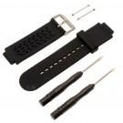 Uhrenarmband für Garmin Approach S2 S4 Golfuhr inkl. Werkzeug,| schwarz