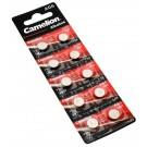 10er Blister Camelion AG6 Alkaline Knopfzellen Batterien, wie LR69, LR921, L920 mit 1,5V und 30mAh