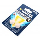 2er Pack Varta Professional Electronics CR 2016 Lithium Knopfzelle Batterie mit 3 Volt und 90mAh