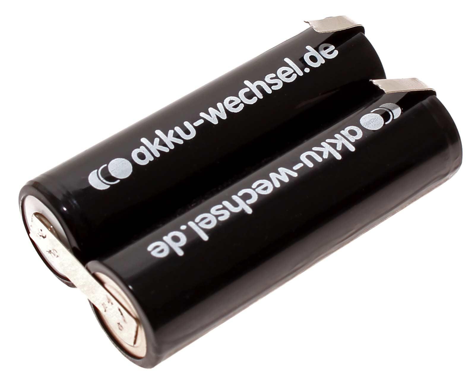 2,4V NiMH Akku für Panasonic ER150, ER151, ER152, ER153 und ER155