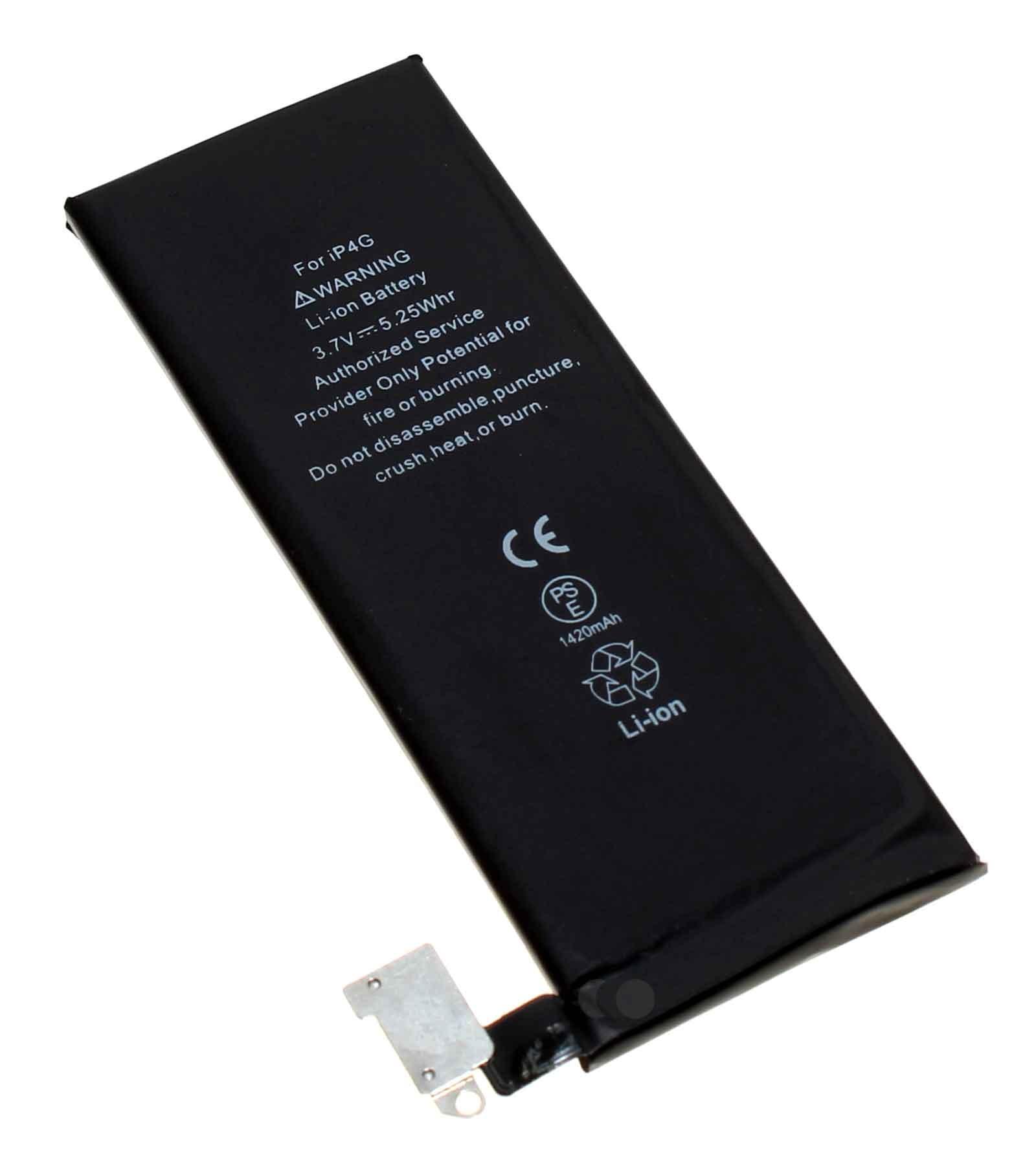 Akku passend für Apple iPhone 4, APN 616-0513, A1332, A1349