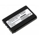 Alternativer Lithium-Ionen Akku für Metrologic SP5500 Scanner, Mobilterminal, Datenerfassungsgerät mit 3,7 Volt und 750mAh Kapazität, ersetzt den original Akku 46-00311 und BA-80S700