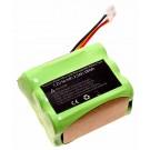 Akku für iRobot Braava 380, 390, Mint Plus 5200 Saugroboter, ersetzt 4409709, GPRHC202N026,| 7,2V, 2500mAh