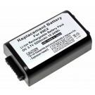 Alternativer Lithium-Ionen Akku für Honeywell Dolphin 99EX Mobilterminal, Datenerfassungsterminal mit 3,7 Volt und 5200mAh Kapazität, ersetzt den original Akku 99EX-BTES-1, 200-00591-01, 200002586, 20000591-01.