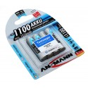 4er Blister ANSMANN Akku Micro AAA HR03   NiMH   5035232   1,2V 1100mAh