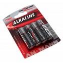 4er Blister Ansmann Alkaline Red Batterie Mignon AA   LR6 AM3 MN1500 HR6   1,5V