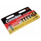 12er Power Pack Camelion Plus Alkaline Batterien AA Mignon [LR6-HP12] LR6 AM3 MN1500 E91   1,5V 2700mAh