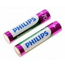 2x Philips AAA Akku passend für Avent SCD505, SCD510, SCD520 und SCD525 Babyphone