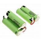 Ersatz Akku Zellen für Philips PowerPro Duo FC6168 2-in-1 Akkusauger, 18V, 2900mAh, Li-Ionen