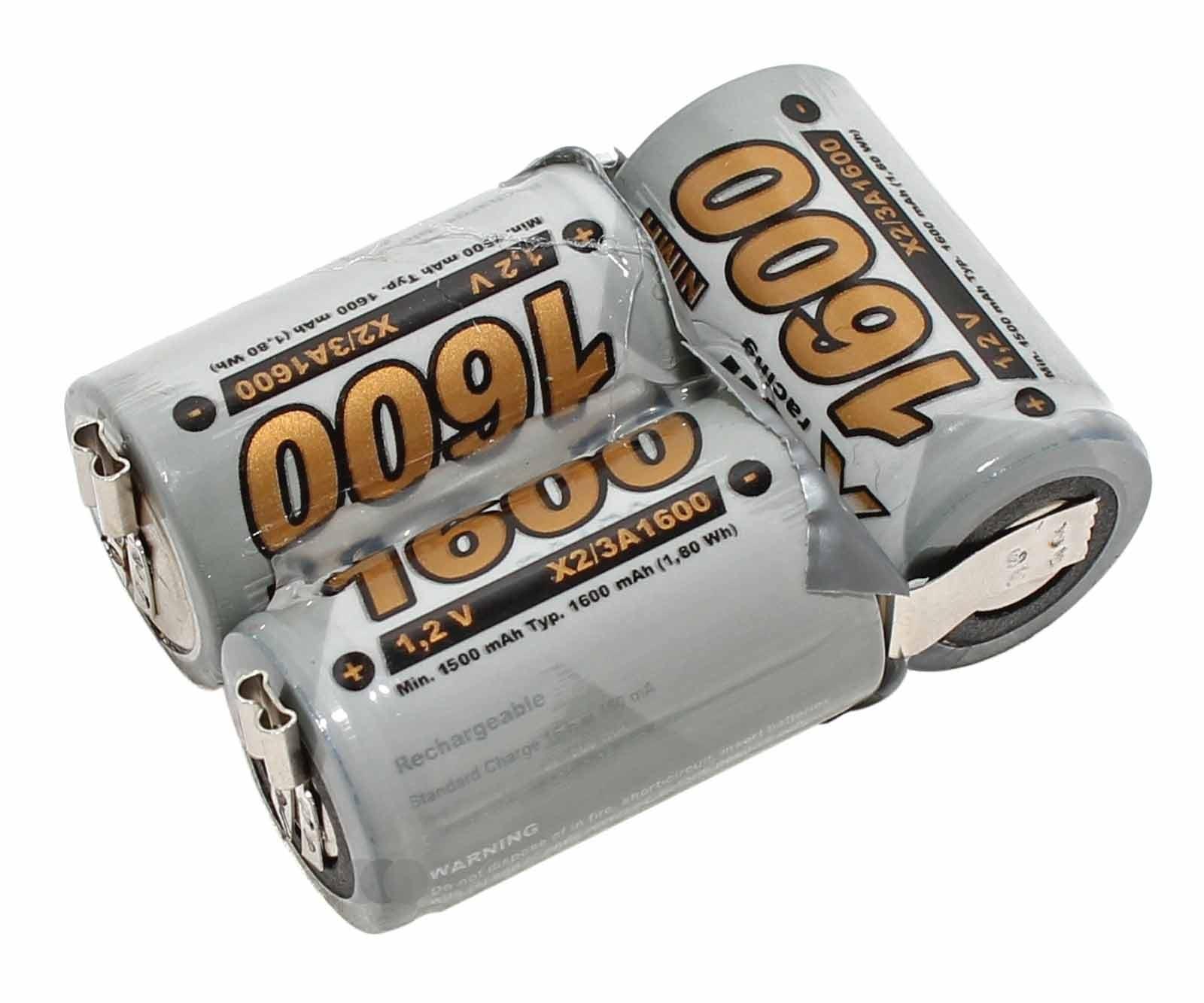 Akku-Pack für Wella Xpert HS50 zum Stecken - kein löten erforderlich