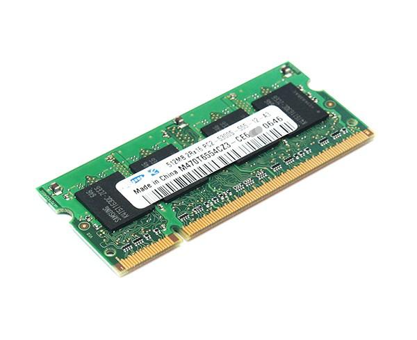 Samsung Arbeitsspeicher 512 MB DDR2 SO-DIMM PC2-5300 667MHz
