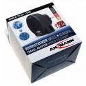 ANSMANN 1250-0012 universal Reiseadapter Reisestecker World to EU + USB | mit Schutzleiter und USB Ladeanschluss